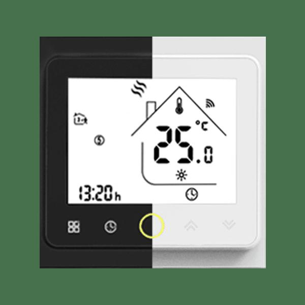wifi pametni termostat crno bijeli