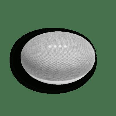 google home mini gray